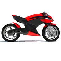sport bike concept 3ds
