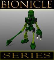 lego bionicle lewa - dxf