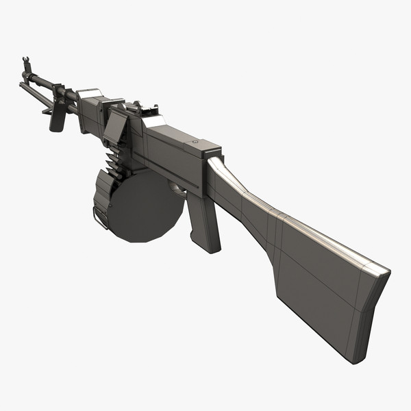 3d model rpd machine gun - RPD... by Maarten_Dominicus