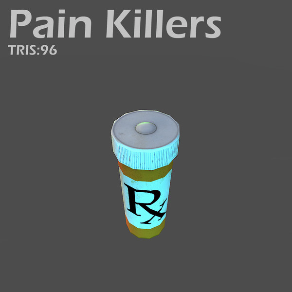 3d pain killer object - First aid... by Game geek