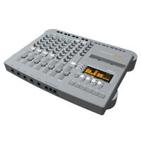 fostex cassette track 3d model