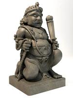 gupala statue 3d max