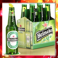 3d heineken beer pack cardboard box