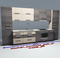 3ds max kitchen furnitures 08