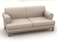 3d model sofa s210b