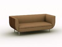 3d sofa s215b chair model