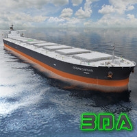 Bulk carrier ship 300000DWT NYK Line