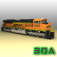 Locomotive EMD SD70ACe BNSF