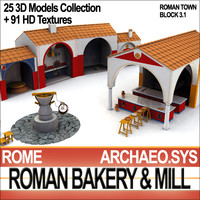 Roman Town Bakery Mill 3.1