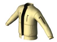 3d model jacket