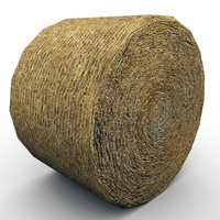 3ds max bale straw