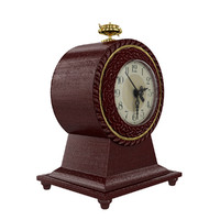 3d clock antique model