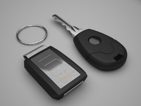 Car Keys with Alarm
