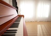 modern interior scene piano max