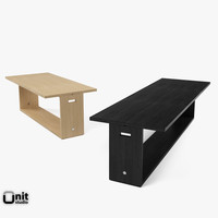 3d model of cuma table-console maxalto table