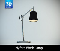 nyfors work lamp 3d max