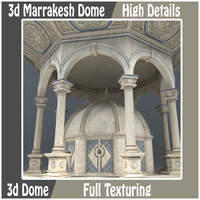 3d Marrakesh Dome