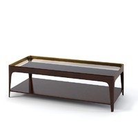Baker 3654  Barbara Barry Shadow Coffee Table