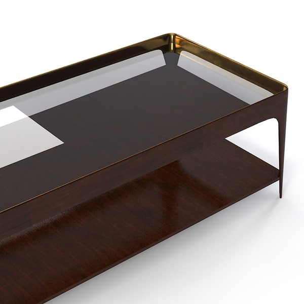 baker 3654 barbara ma - Baker 3654  Barbara Barry Shadow Coffee Table... by shop3ds