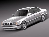 3ds max bmw m5 e34 sedan