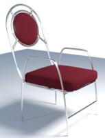 chair frame 3d model