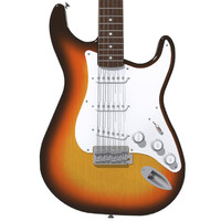 Guitar: Fender Stratocaster: Sunburst Finish