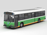 3d max tobus city bus