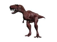 3d model tyrannosaurus