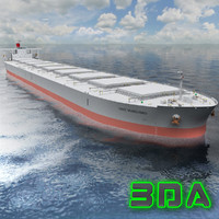 Bulk carrier ship 300000DWT K Line