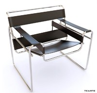 wassily chair 3d obj