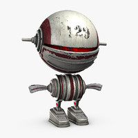 3ds max toy robot