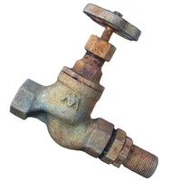 rusty water faucet 3d model