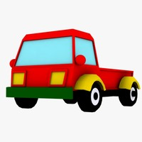 3d toy truck
