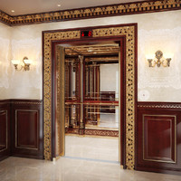 Classic mirror elevator