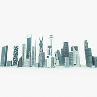 3ds max highrise buildings skyscrapers