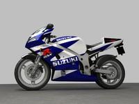 3d suzuki gsx model