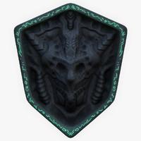 3d ancient emblem model