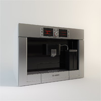 Bosch Coffee Machine, Modern, Intergrated