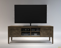 maya danish modern entertainment center