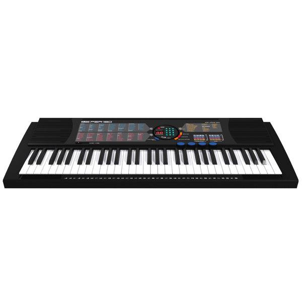 Max yamaha psr 180 for Yamaha piano keyboard 61 key psr 180
