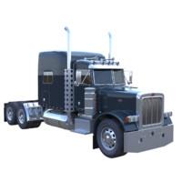 truck mack wheeler 3d max