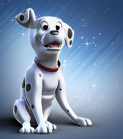 dog toon character