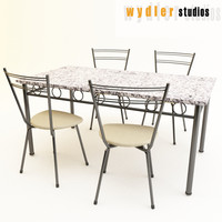 granite table chairs max free