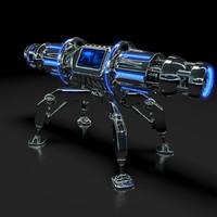nuke space galaxy 3d model