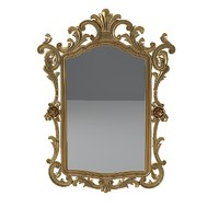 Classic Carved Wall Mirror