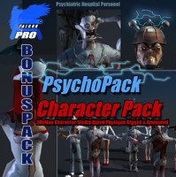 PsychoPack Character Collection