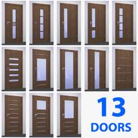 dre modern doors obj