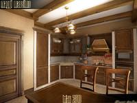 kitchen maggi massimo 3d max