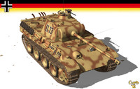 panther german tank wwii lwo