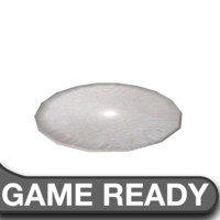 free fbx mode simple plate games ready